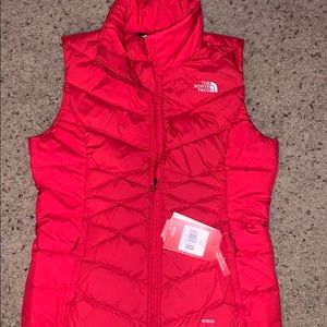 North Face puffy vest.